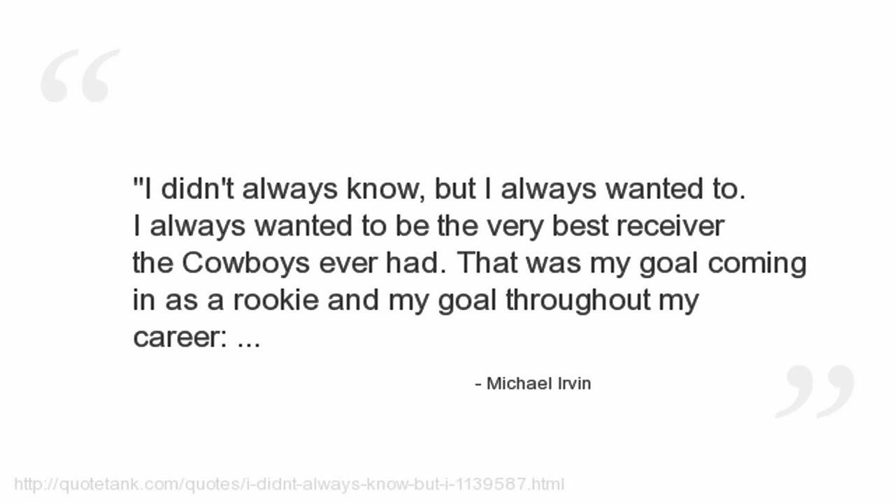 michael irvin quotes michael irvin quotes
