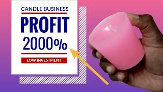 Candle Manufacturing Business : Easy Small Business Ideas To Earn High Profits