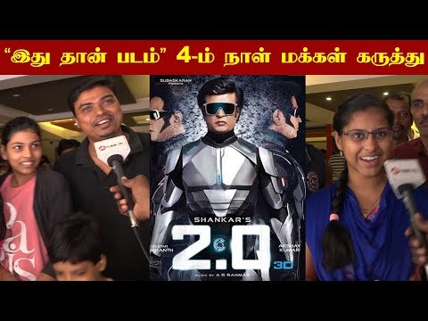 2.O Vera Level Family Audience Reaction -Day 4 | Rajinikanth | Akshay Kumar | kalakkal cinema