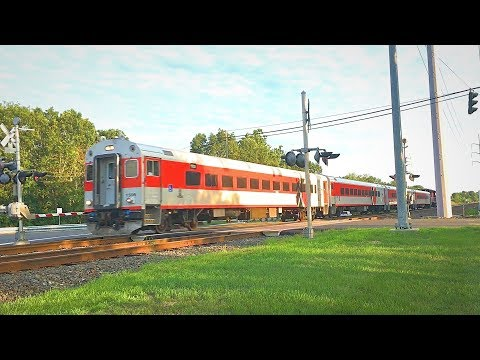 Amtrak and CTRail: New Haven-Springfield Line Trains Compilation #1