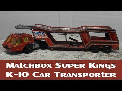 Matchbox Restoration Super Kings K-10 Car Transporter
