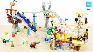 レゴ クリエイター ローラーコースター 31084 海賊 セット説明 9:30~ / LEGO Creator Pirate Roller Coaster 31084 Build & Review thumbnail