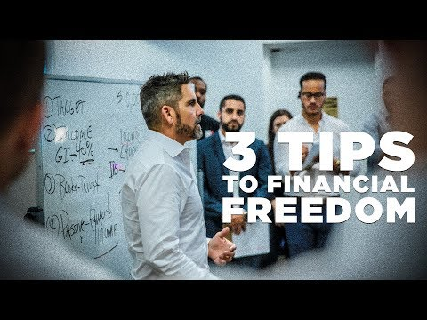 3 Tips to Financial Freedom - Grant Cardone