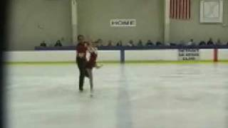 Britney Simpson and Nathan Miller 2008 Skate Detroit Junior Pairs FS: