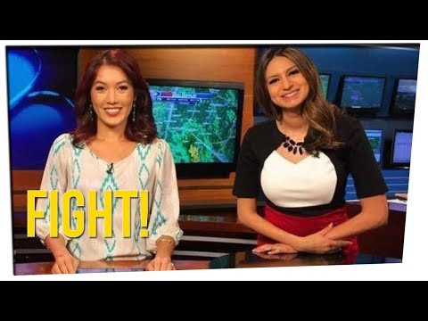Two Female News Anchors Get Into Fight!? ft. Steve Greene