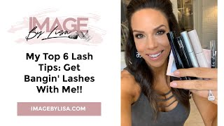 My top 6 tips for bangin lashes!