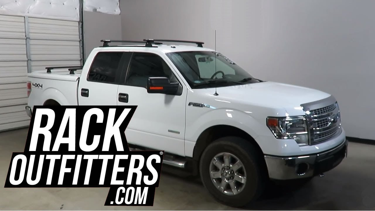 Rhino-Rack Vortex RLT600 Roof Rack on Tracks for Ford F150 ...