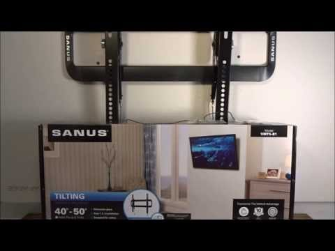 Sanus VMT5 B1 Tilting TV Wall Mount Review