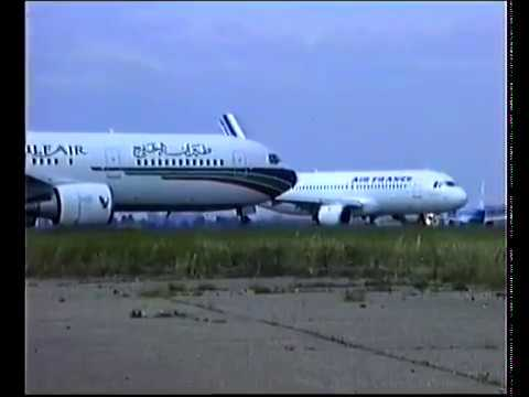 Heathrow Airport Planes in the 90s