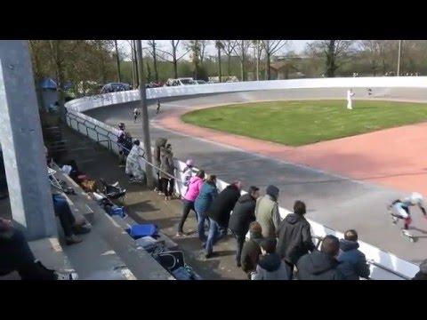 CPR Chateau Gontier Roller vitesse Challenge régional à Saint Viaud 20/03/2016