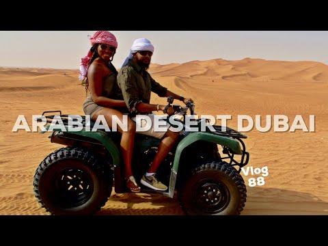 DUNE BASHING & ATV RIDE IN DUBAI ARABIAN DESERT