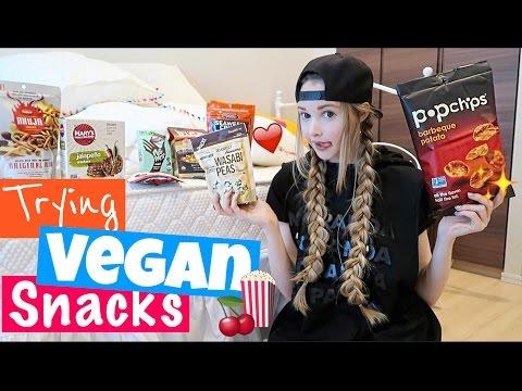 Trying Vegan Snacks