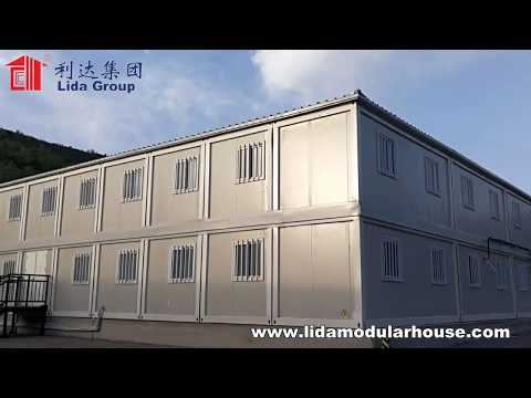 Standard Shipping Container Size Foldable House