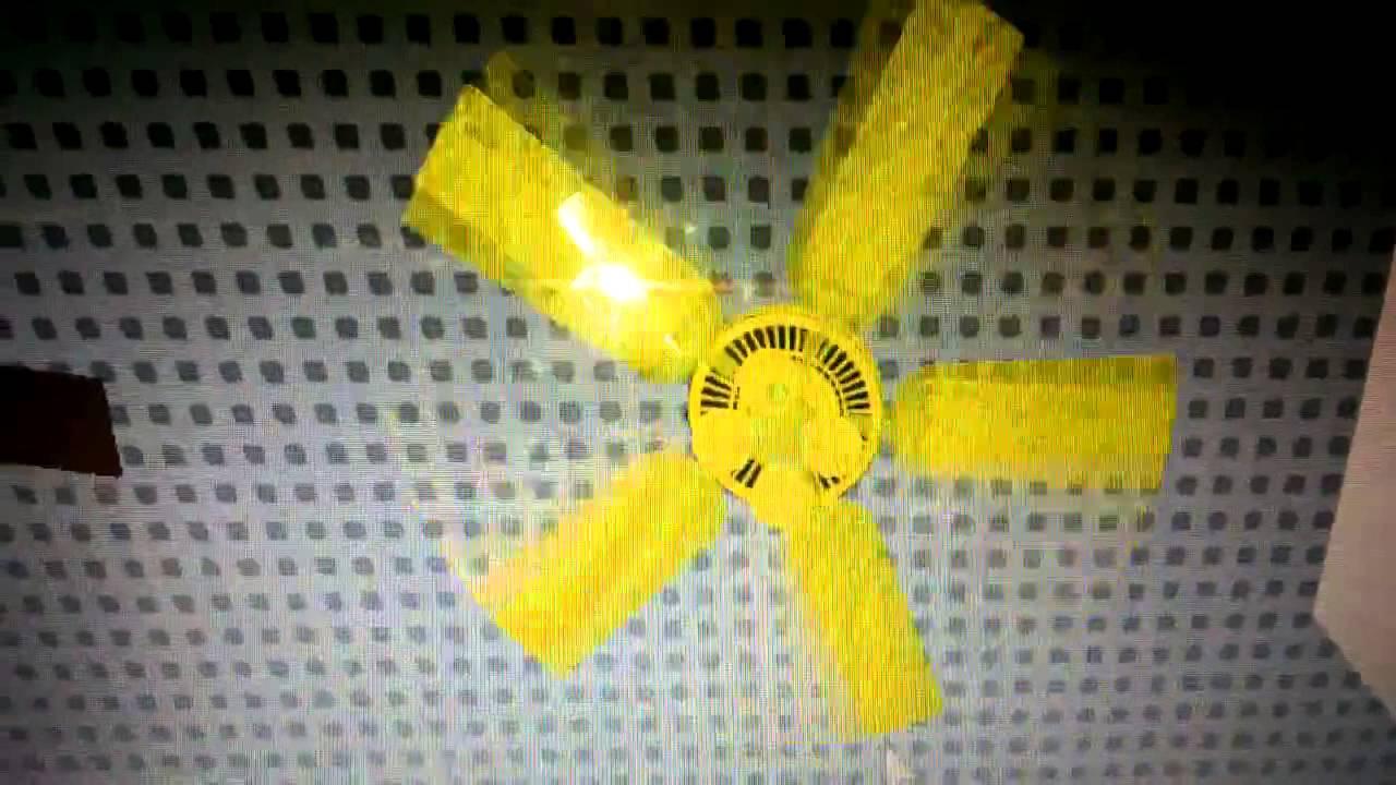 Yellow Ceiling Fan: Yellow hunter summer breeze ceiling fan,Lighting