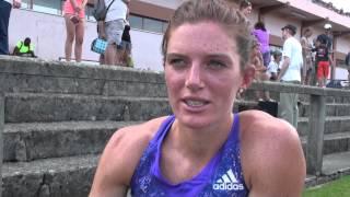 Resisprint La Chaux-de-Fonds 2015: Interview Lea Sprunger