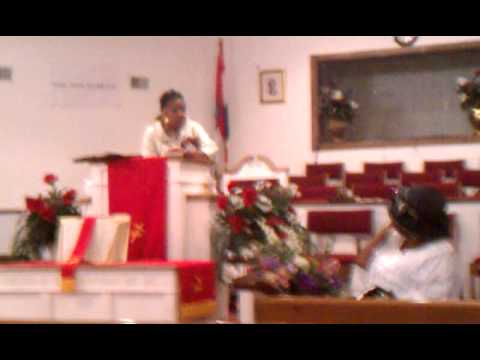 Pastor Michelle King for D.M. Jackie Cunningham