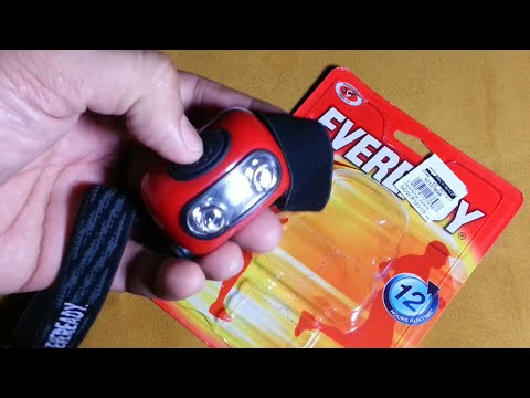 Eveready 2 LED Headlamp Review