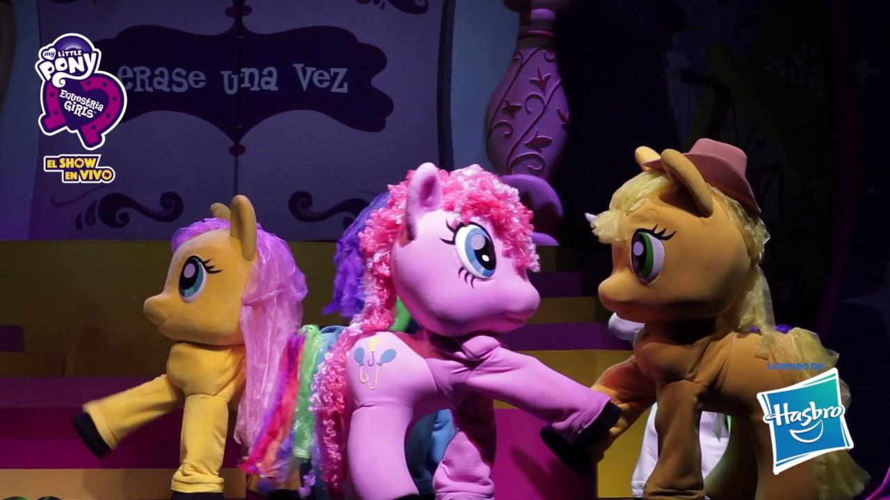 My Little Pony & Equestria Girls show en vivo en el Teatro Coliseo
