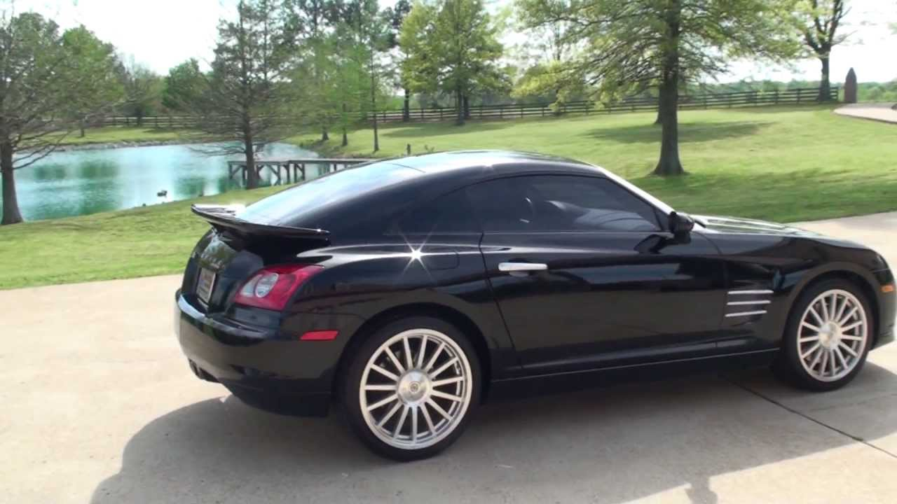 chrysler crossfire srt6. hd video 05 chrysler crossfire srt6 for sale black see wwwsunsetmilancom youtube chrysler crossfire srt6 0