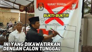 KEGALAUAN PILKADA CALON TUNGGAL. MERUSAK DEMOKRASI DAN MASA DEPAN INDONESIA ⁉️