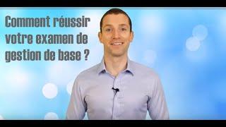 Comment réussir votre examen de gestion de base avec GDBase.be ?