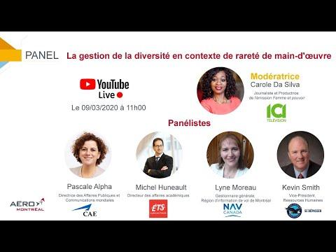#Panel : La gestion de la diversité en contexte de rareté de main-d'uvre