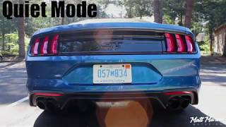 Sound: 2018 Mustang GT with Active Exhaust
