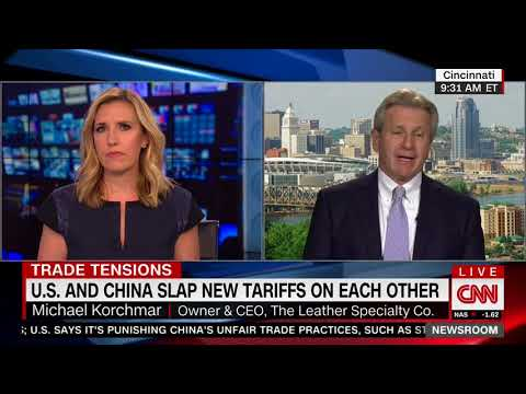 CNN Host Asks Small Biz Owner If He's Being Selfish For Supporting Trump's Trade War With China