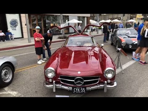 Christophe Choo Tour Of The Concourse DElegance Car Show On Rodeo - Is there a car show near me today