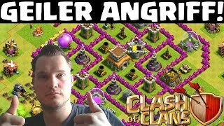 [facecam] GEILER ANGRIFF! || CLASH OF CLANS || Let's Play COC [Deutsch/German HD]