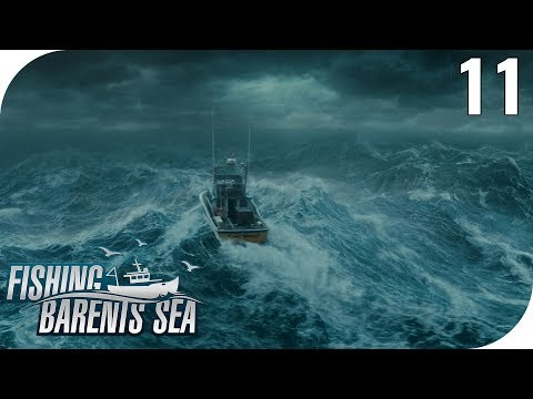 FISHING: BARENTS SEA #11 - KAMPF GEGEN DIE WELLEN! 🎣 || PantoffelPlays