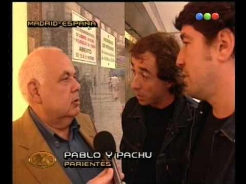 El pariente con Pachu y Pablo  desde España - Videomatch