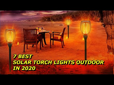 7 Best Solar Torch Lights Outdoor in 2020