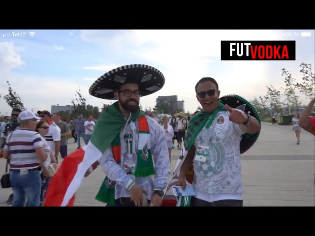 EL MEJOR VIAJE DEL MUNDIAL DE RUSIA - MÉXICO VS COREA 2-1