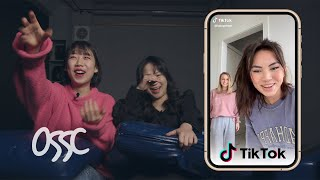 Koreans In Their 20's React To And Try TikTok Dances