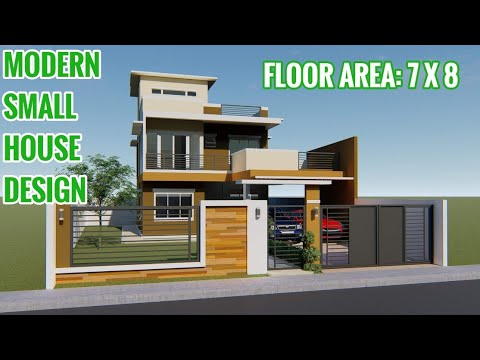 Ofw Simple Dream House Modern House Design 2 Storey Small