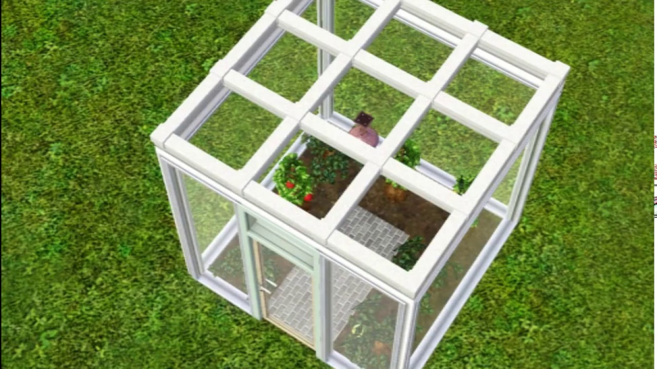 how to build a greenhouse in sims 3