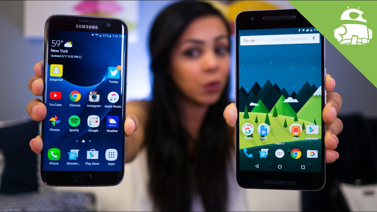 Samsung Galaxy S7/S7 Edge vs Nexus 6P