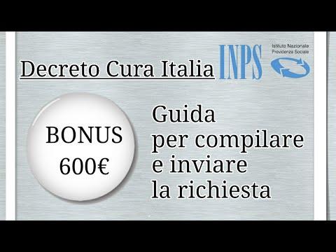 BONUS DA 600 EURO INPS: ECCO COME COMPILARE LA DOMANDA