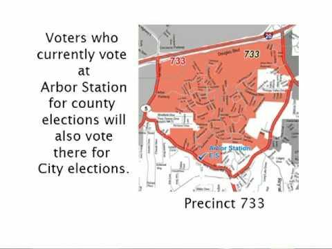 Info Flash - Voting Locations 2009