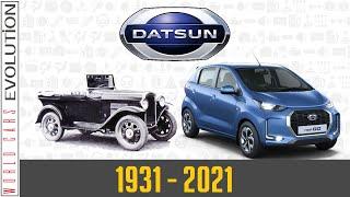 W.C.E.-Datsun Evolution (1931 - 2021)