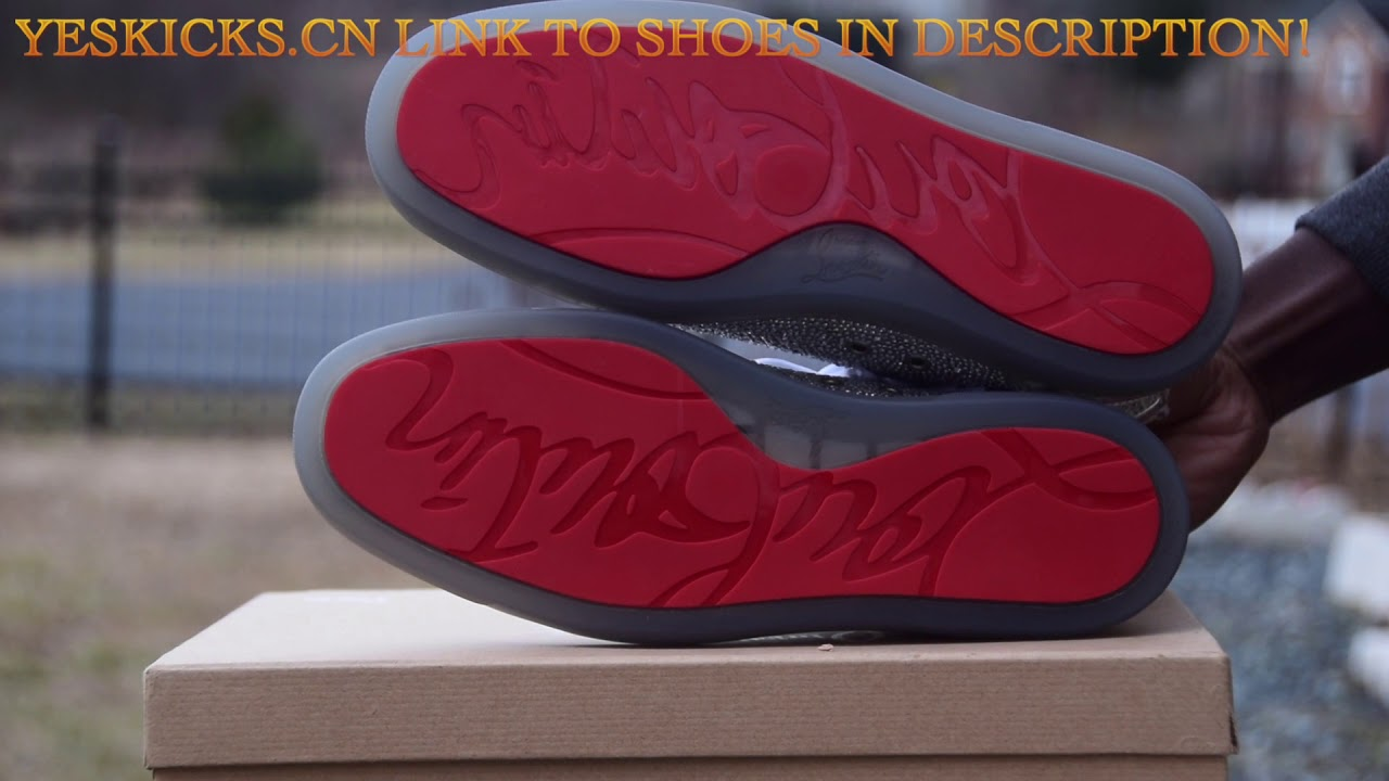 new product 943bb b844c Christian Louboutin Red Bottom Sneakers Review (Yeskicks.cn)