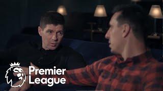 Steven Gerrard: Gary Neville's Soccerbox | Premier League | NBC Sports
