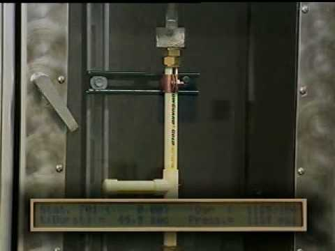 Hydrostatic Quick Burst Test - FlowGuard Gold® Pipe & Fitting