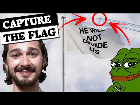 How 4chan found Shia LaBeouf's #HWNDU flag!