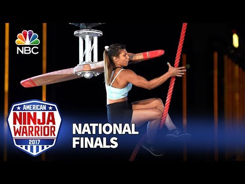 Meagan Martin at the Las Vegas National Finals: Stage 1 - American Ninja Warrior 2017