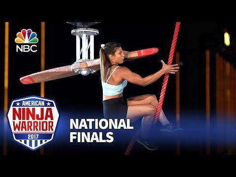 Meagan Martin at the Las Vegas National Finals: Stage 1  American Ninja Warrior 2017