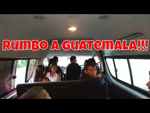 Fuímos rumbo a Guatemala. Pasando lista de los que van y no. Nos fuimos pa' Guate(1er dia). Parte 1