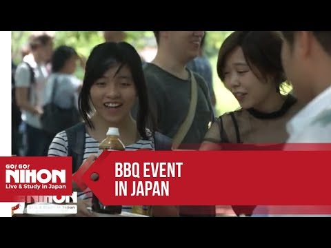 BBQ Event 2017 in Japan Hosted by Go! Go! Nihon