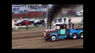 Tow Mater Pulling Semi 3 Turbos
